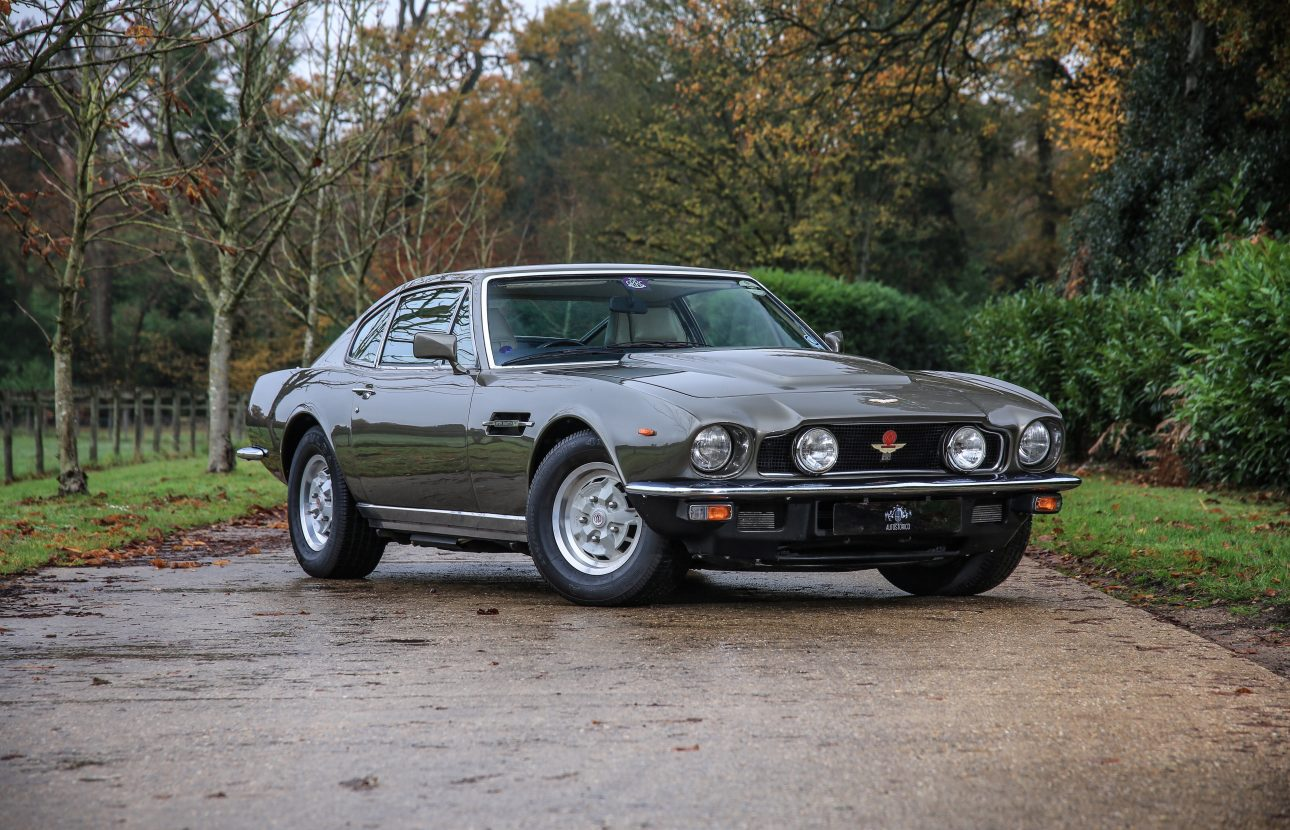 Aston Martin V8 Series Iv Oscar India Autostorico