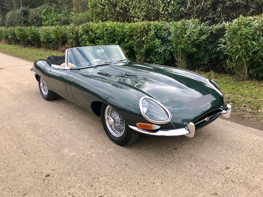 Jaguar E-Type 1963 3.8 Series 1 Roadster. - Autostorico