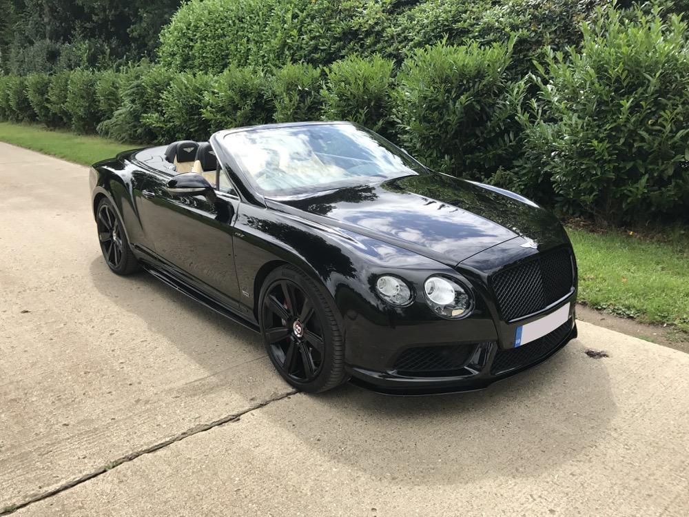 Bentley Gtc V8 S Quot Concours Series Black Quot Autostorico