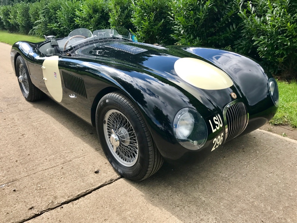 Jaguar C-Type by Realm - Autostorico